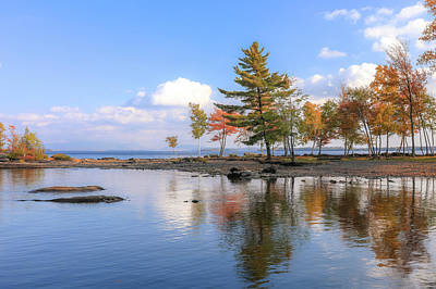 Photograph - Reflections On Moosehead Lake by Dan Sproul