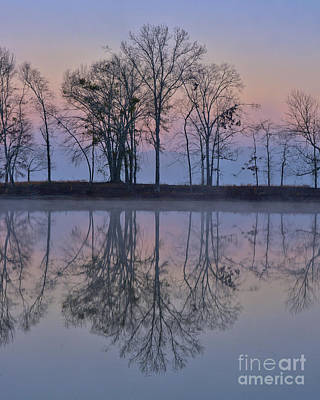 Photograph - Reflections On The Lake by Ken Johnson