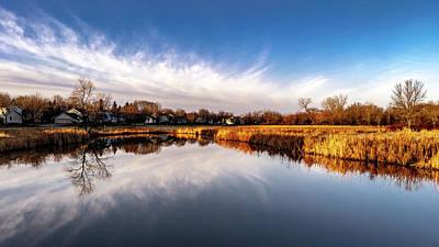 Photograph - Reflections by Randy Scherkenbach