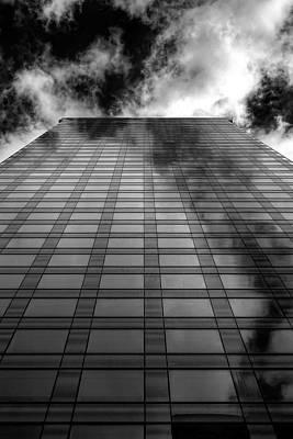 Photograph - Reflective High Rise Office Building by Robert Ullmann