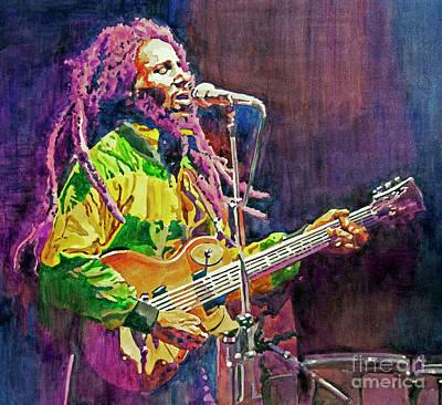 Painting - Reggae Masters by David Lloyd Glover