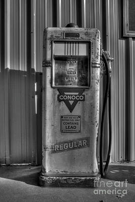 Photograph - Regular Please - Bw by Tony Baca