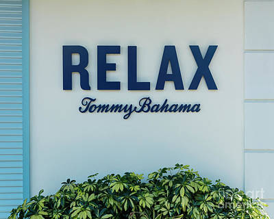Photograph - Relax Tommy Bahama II by Brian Jannsen