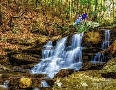 Photograph - Relaxing At Big Rock by Nick Zelinsky