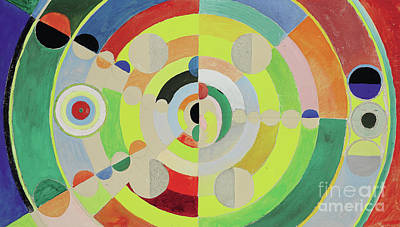 Painting - Relief Disques, 1936 by Robert Delaunay