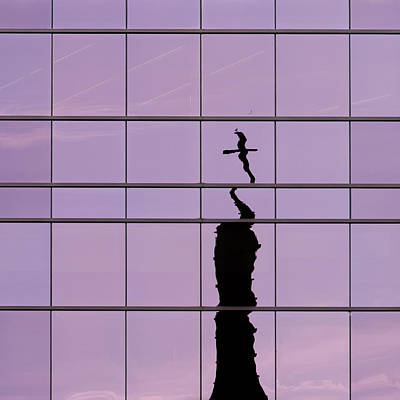 Photograph - Religious Reflection by Stuart Allen