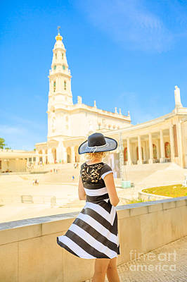 Photograph - Religious Tourism Fatima by Benny Marty