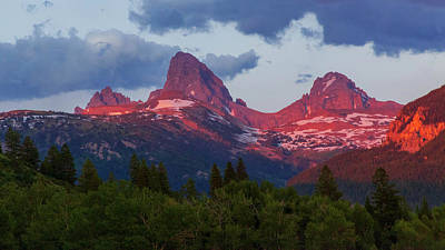 Idaho Wall Art - Photograph - Reliving The Tetons by Chad Dutson