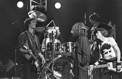 Photograph - R.e.m At The Hollywood Palace by Michael Ochs Archives