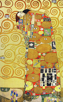 Photograph - Remastered Art Preparatory Design Stoclet Palace Frieze By Gustav Klimt 20190215 by Wingsdomain Art and Photography
