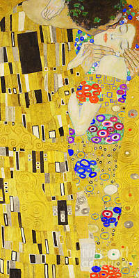 Photograph - Remastered Art The Kiss By Gustav Klimt 20190214 Long by Wingsdomain Art and Photography