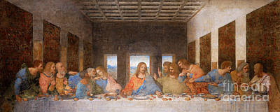 Photograph - Remastered Art The Last Supper By Leonardo Da Vinci 20190309 V2 by Wingsdomain Art and Photography