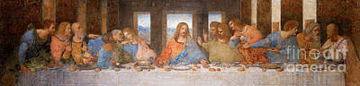 Photograph - Remastered Art The Last Supper By Leonardo Da Vinci 20190309 V3 by Wingsdomain Art and Photography