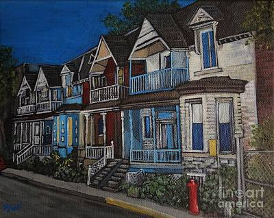 Painting - Remembering May Avenue by Reb Frost
