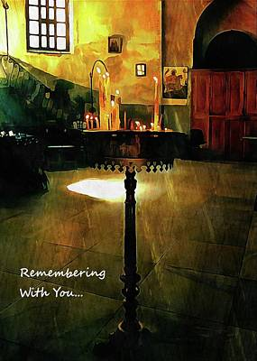 Mixed Media - Remembering With You by Dorothy Berry-Lound