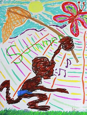 Pastel - Remembering Young Summers by Odalo Wasikhongo