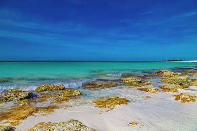 Royalty-Free and Rights-Managed Images - Remote Beach Paradise Turks and Caicos by Betsy Knapp