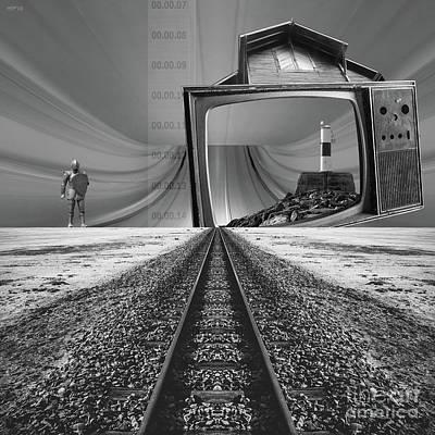 Digital Art - Remote Programming by Phil Perkins