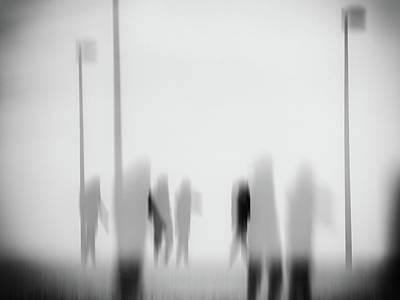 Photograph - Rencontre 1 by Jorg Becker