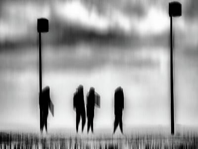 Photograph - Rencontre by Jorg Becker