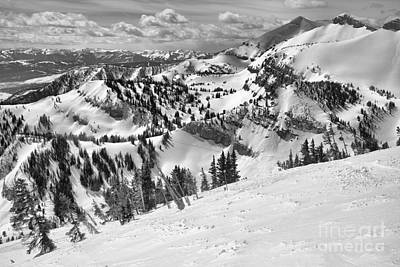 Photograph - Rendezvous Views Black And White by Adam Jewell
