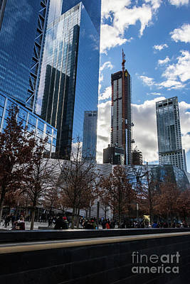 Photograph - Renaissance Of The World Trade Center Skyscrapers, 2018 by Thomas Marchessault