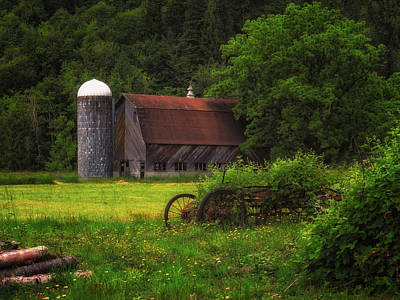 Photograph - Rensink Barn by Thomas Hall