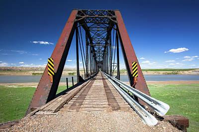 Photograph - Repurposed Bridge by Todd Klassy
