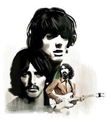 Requiem II George Harrison Original
