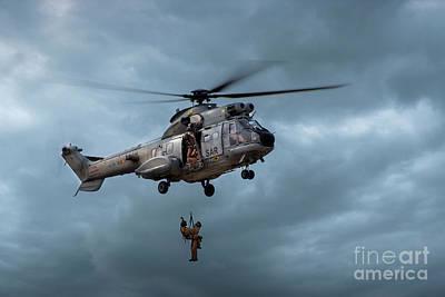 Photograph - Rescue by Hernan Bua