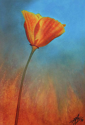 Painting - Resilience by Robin Street-Morris