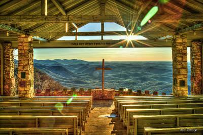 Photograph - Resplendent Light Pretty Place Chapel Camp Greenville South Carolina Landscape Art by Reid Callaway