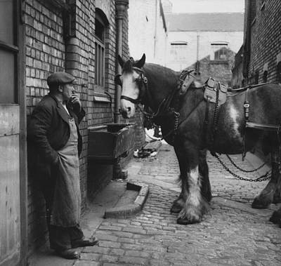 Photograph - Rest At The Stables by Bert Hardy
