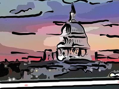 Politicians Mixed Media - Rest in Peace George Herbert Walker Bush by Trish Tritz