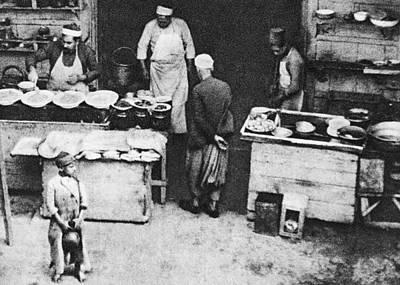 Photograph - Restaurant In Jaffa 1925 by Munir Alawi