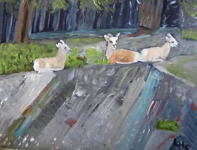 Painting - Resting by Linda Feinberg