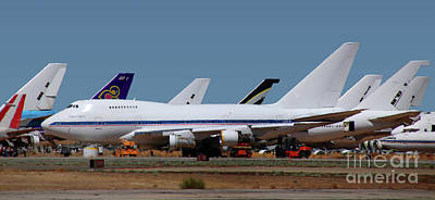 Everett Collection - Resting Place for the End of Clipper America, 747SP by Wernher Krutein