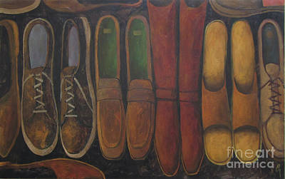 Painting - Resting Soles by Glenn Quist