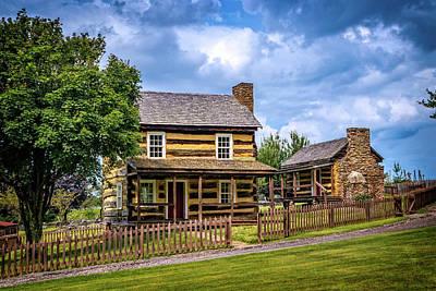 Photograph - Restored Farmhouse On 1830s Farmstead by Carolyn Derstine