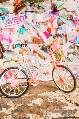 Photos - Retro city cycle by Jorgo Photography - Wall Art Gallery