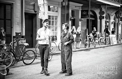 Photograph - Retro Vibe On Royal Street New Orleans by John Rizzuto