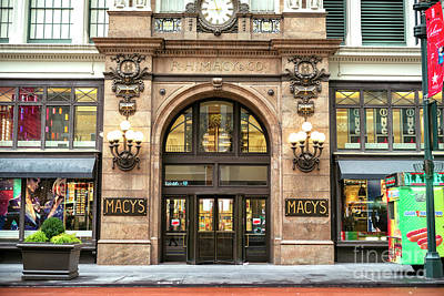 Photograph - Rh Macy's And Co. Herald Square New York City by John Rizzuto