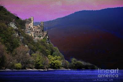 Digital Art - Rheinstein Castle by Lutz Roland Lehn