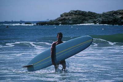 Photograph - Rhode Island Surfer by Slim Aarons
