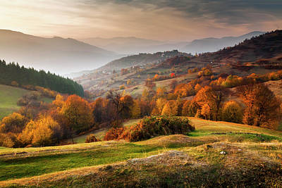 Rhodopean Landscape Art Print by Evgeni Dinev Photography