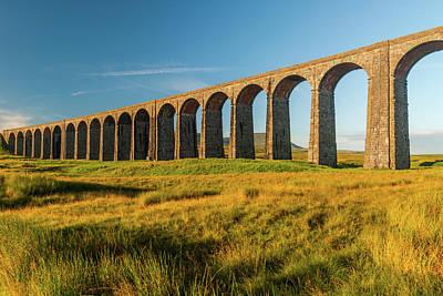 Ribblehead Viaduct Art Print by David Ross