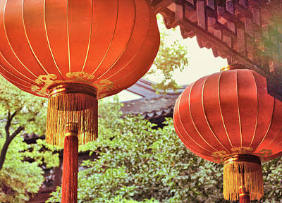 Photograph - Rich Lanterns by JAMART Photography