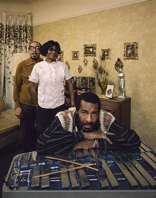Photograph - Richie Havens At Home by John Olson