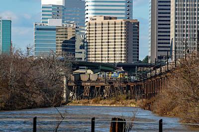 Photograph - Richmond Skyline 32 Color by Joseph C Hinson Photography
