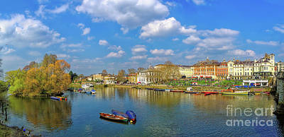 Photograph - Richmond Upon Thames - Panorama by Leigh Kemp